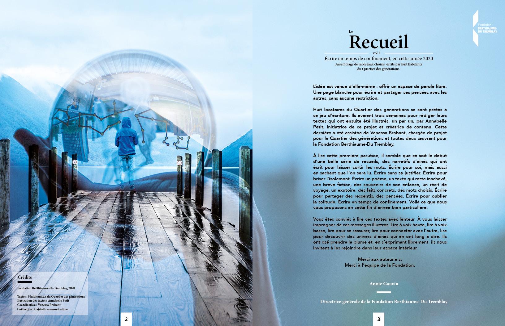 Le Recueil (vol.1) : La Fondation Berthiaume du Tremblay vous offre un cadeau!
